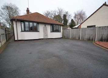 Thumbnail 4 bedroom detached bungalow for sale in Hall Road, Lowestoft
