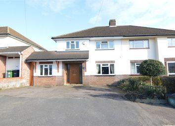Thumbnail 4 bed semi-detached house for sale in Mountview Road, West Cheshunt, Hertfordshire