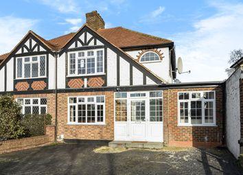 Thumbnail 4 bedroom semi-detached house for sale in Kingston Road, Ewell, Epsom