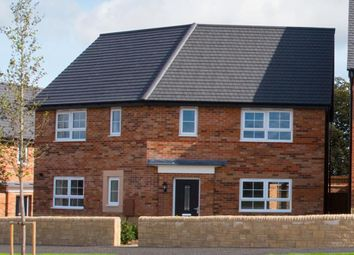 "Thumbnail 3 bed detached house for sale in ""Findern"" at Kensey Road, Mickleover, Derby"
