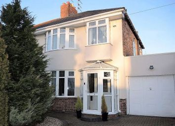 Thumbnail 3 bed semi-detached house for sale in Edgemoor Road, West Derby, Liverpool