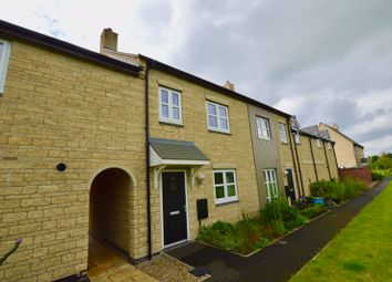Thumbnail 3 bed terraced house for sale in Chepstow Court, Barleythorpe, Oakham