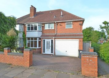 Thumbnail 4 bed semi-detached house for sale in Leach Green Lane, Rednal, Birmingham