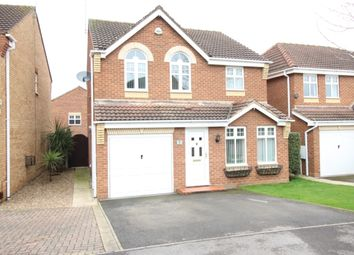Thumbnail 4 bedroom detached house for sale in Wavell Close, Worksop