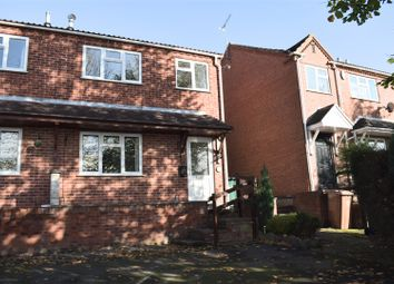 Thumbnail 3 bed town house for sale in Bank Street, Castle Gresley, Swadlincote