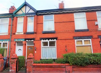 Thumbnail 2 bedroom terraced house for sale in Dorset Avenue, Manchester