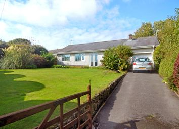 Thumbnail 3 bedroom detached bungalow for sale in Reynoldston, Swansea