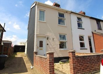 Thumbnail 2 bed end terrace house to rent in Waveney Road, Ipswich
