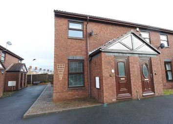 Thumbnail 2 bed end terrace house for sale in Nook Street, Carlisle