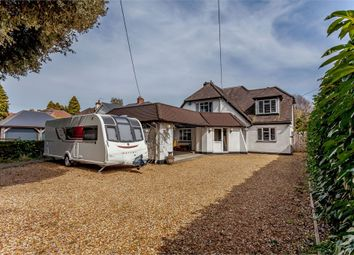 Thumbnail 4 bed detached house for sale in New Road, West Parley, Ferndown, Dorset