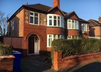 Thumbnail 5 bedroom semi-detached house to rent in Egerton Road, Manchester