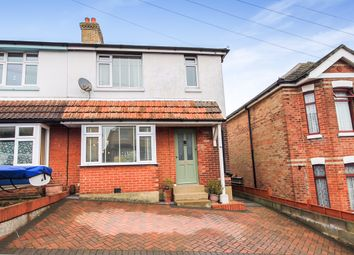 Thumbnail 3 bedroom semi-detached house to rent in Layton Road, Parkstone, Poole