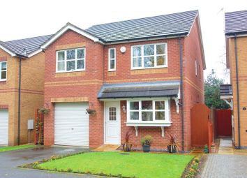 Thumbnail 4 bed detached house for sale in Beckett Close, Riverside, Redditch, Worcestershire
