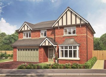 Thumbnail 5 bedroom detached house for sale in Westlow Heath, Congleton, Cheshire