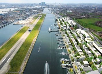 Thumbnail 3 bed flat for sale in The Royal Docks, London