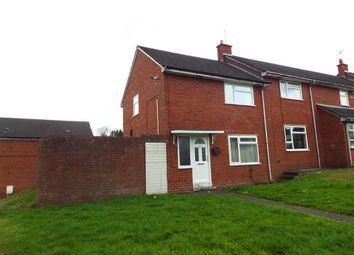 Thumbnail 2 bed end terrace house for sale in Second Avenue, Gwersyllt, Wrexham, Wrecsam