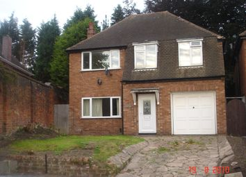 Thumbnail 4 bed detached house to rent in Wood Lane, Handsworth, Birmingham
