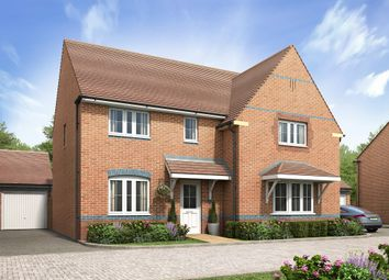 "Thumbnail 4 bed detached house for sale in ""Knightsbridge"" at Belvoir Road, Bottesford, Nottingham"