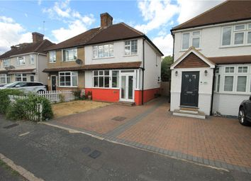 Thumbnail 3 bed semi-detached house for sale in Byron Road, Addlestone, Surrey