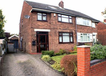 Thumbnail 4 bed semi-detached house to rent in Wellington Road, Eccles, Manchester