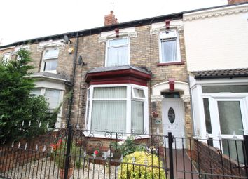 Thumbnail 3 bedroom terraced house for sale in Albert Avenue, Anlaby Road, Hull, East Yorkshire