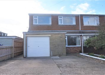 Thumbnail 3 bed semi-detached house for sale in Woodfield Close, Humberston