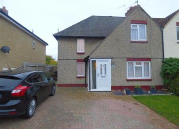 Thumbnail 3 bed semi-detached house for sale in Kerrfield Estate, Duston, Northampton, Northamptonshire