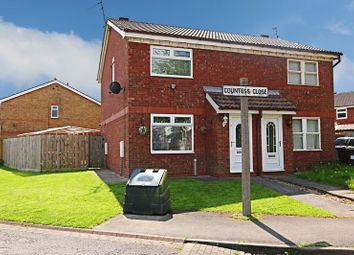 Thumbnail 3 bed semi-detached house for sale in Countess Close, Hull