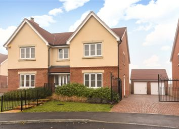 Thumbnail 5 bed detached house for sale in Columba Gardens, Wokingham, Berkshire