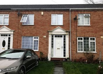 Thumbnail 3 bed terraced house for sale in Gibson Drive, Handsworth Wood