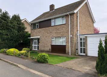 Thumbnail 3 bed detached house for sale in King Edgar Close, Ely