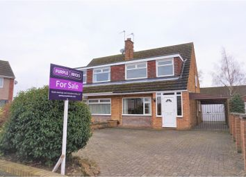 Thumbnail 3 bed semi-detached house for sale in Rosedale Close, Long Eaton