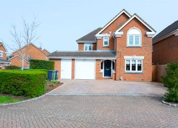 Thumbnail 4 bed detached house for sale in Waterloo Close, Camberley