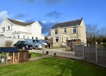 Thumbnail 3 bed detached house for sale in Maes Yr Haf, New Road, Llanmorlais, Swansea
