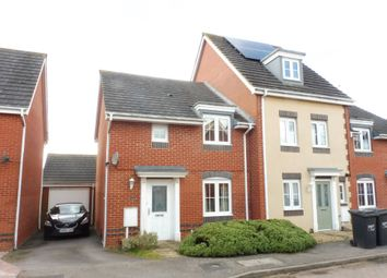 Thumbnail 3 bed end terrace house for sale in Ayr Close, Corby