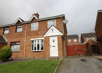 Thumbnail 3 bed terraced house for sale in Glenwood Court, Ballinderry Upper, Lisburn