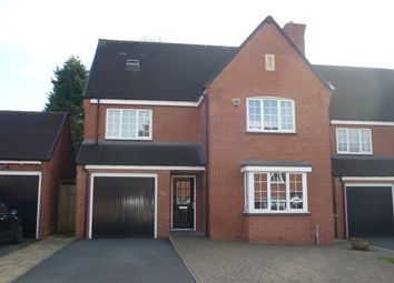 Thumbnail 4 bedroom detached house for sale in Birmingham Road, Wylde Green, Sutton Coldfield