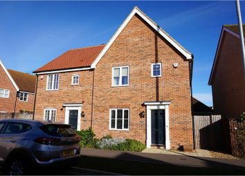 Thumbnail 3 bedroom semi-detached house for sale in Townsend, Ely