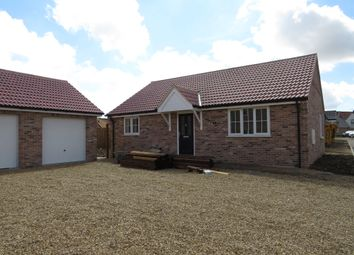 Thumbnail 2 bed detached bungalow for sale in Saffron Close, Watton, Thetford