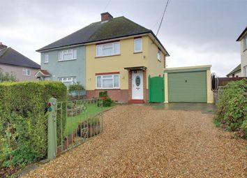 Thumbnail 2 bed semi-detached house for sale in School Road, Broughton, Huntingdon