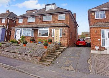 Thumbnail 5 bed semi-detached house for sale in Longmarsh View, Dartford