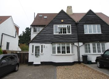 Thumbnail 4 bed semi-detached house to rent in Petts Wood Road, Orpington, Kent