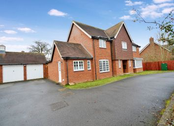 Thumbnail 4 bedroom detached house for sale in Dogwood Court, Oadby, Leicester