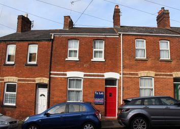 Thumbnail 2 bedroom terraced house to rent in Radford Road, St. Leonards, Exeter