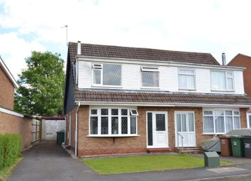 Thumbnail 3 bed semi-detached house for sale in Conway Drive, Shepshed, Leicestershire
