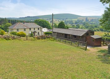 Thumbnail 5 bedroom detached house for sale in North Bovey, Dartmoor National Park