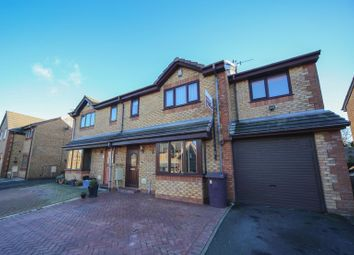 Thumbnail 5 bed semi-detached house for sale in Simpson Street, Hapton, Burnley