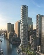 Thumbnail Studio for sale in Upper Bank Street, Canary Wharf