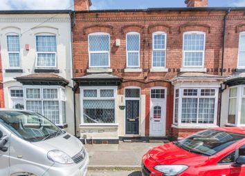 Thumbnail 2 bed terraced house for sale in Majuba Road, Edgbaston, Birmingham