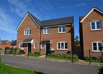 Thumbnail 3 bed semi-detached house for sale in Longacres Way, Chichester, West Sussex